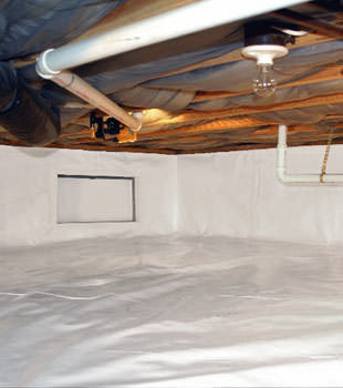 crawl space repair system in Burnsville