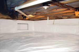 Crawl Space Repair After in Saint Paul