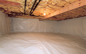 CleanSpace® vapor barrier after in Saint Paul