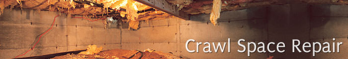 Crawl Space Repair in MN, including Saint Cloud, Rochester & Minneapolis.