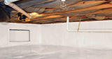 Crawl space moisture control and structural repair in Greater Minneapolis