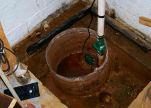 Extreme clogging and rust in a Lakeville sump pump system