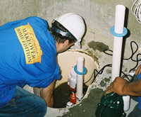 installing a sump pump and backup sump pump system in Savage, MN