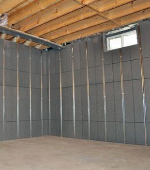 basement to beautiful insulated wall panels